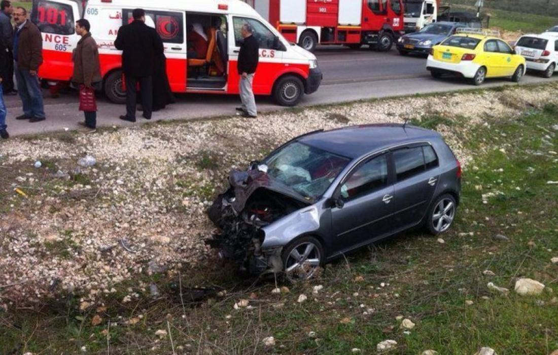 الشرطة: 102 حالة وفاة بحوادث الطرق في فلسطين
