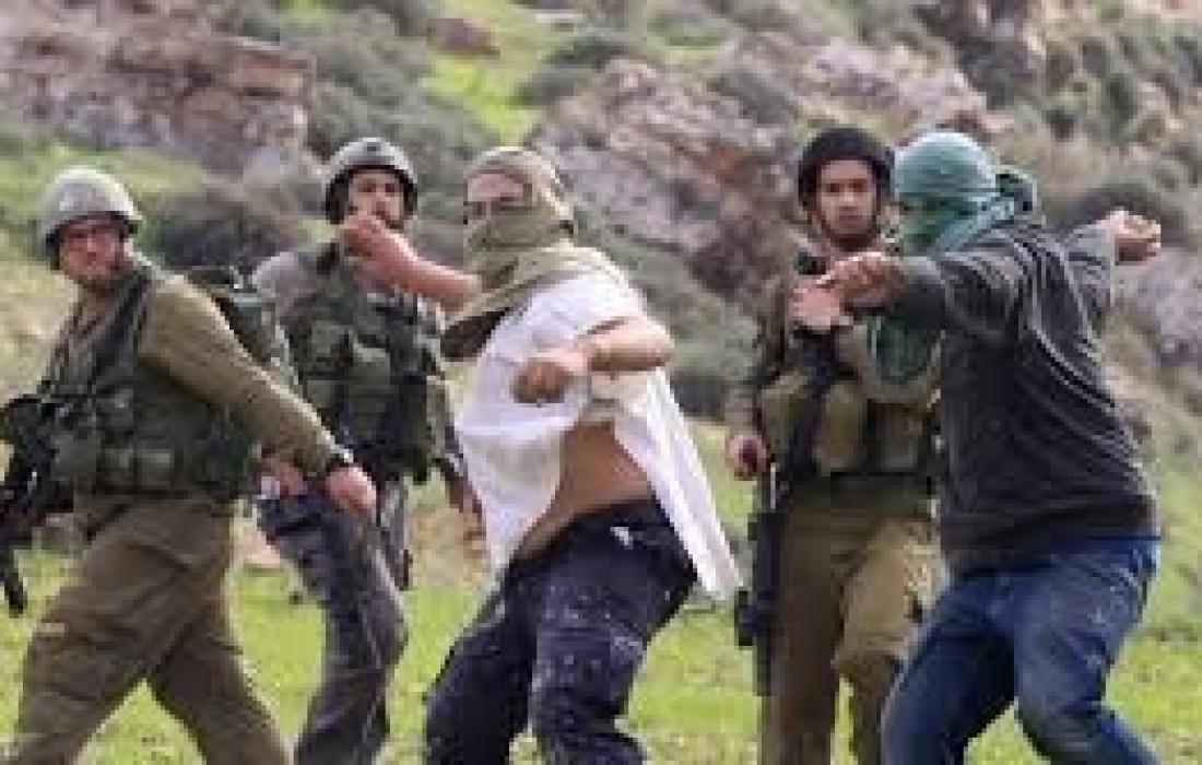 """مستوطنون """"إسرائيليون"""" يعتدون على أراضي ويسرقون معدات في نابلس"""