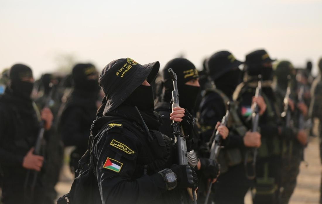 وحدة التعئبة لسرايا القدس تخرج فوجًا جديدًا من المقاتلين