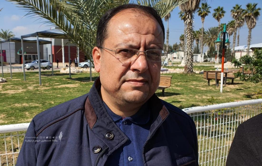 داود شهاب.الناطق باسم الجهاد الاسلامي