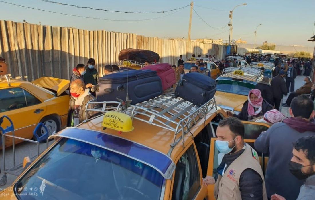 داخلية غزة تعلن عن كشف المسافرين وآلية السفر عبر معبر رفح غدًا الاحد