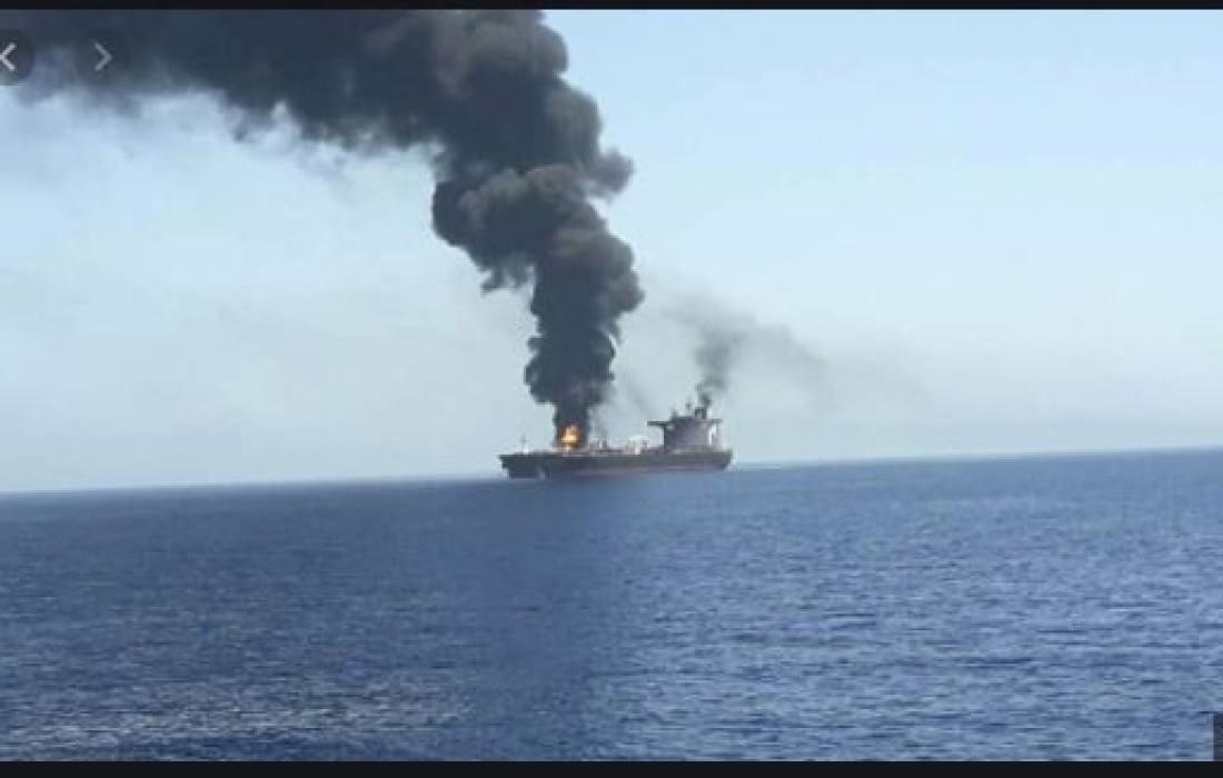 تفجير السفينة الاسرائيلية.JPG