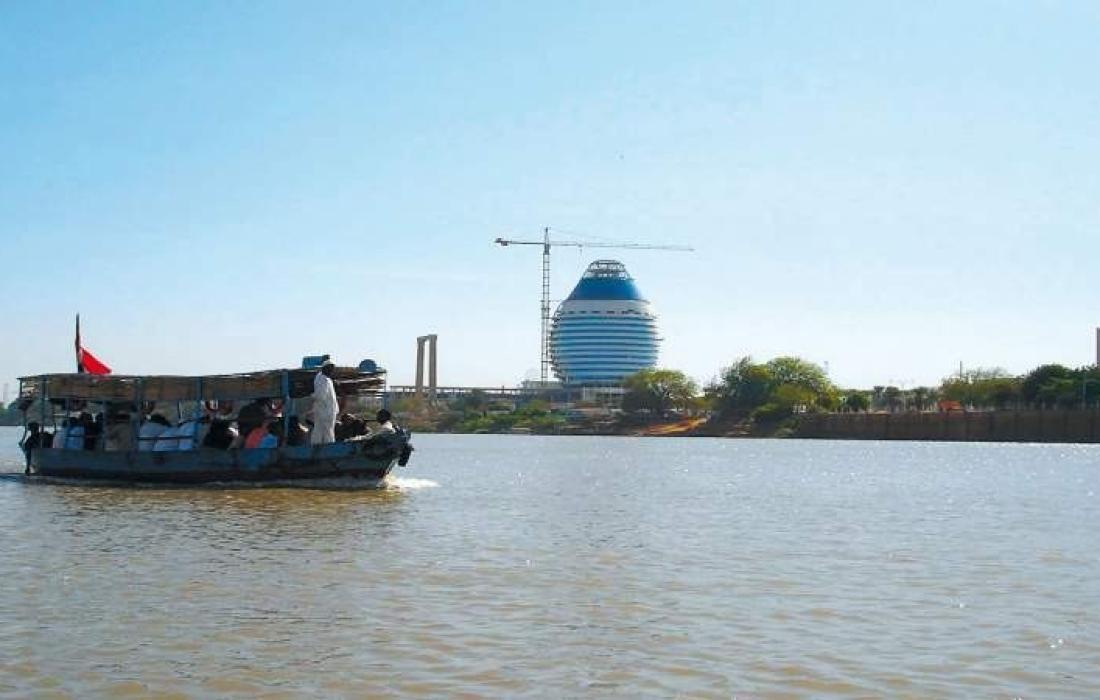 نهر النيل السوداني.