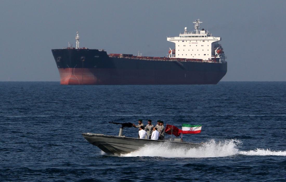 ايران تفرج عن السفينة الكورية المحتجزة