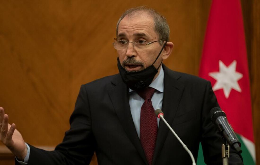 وزير خارجية الاردن.