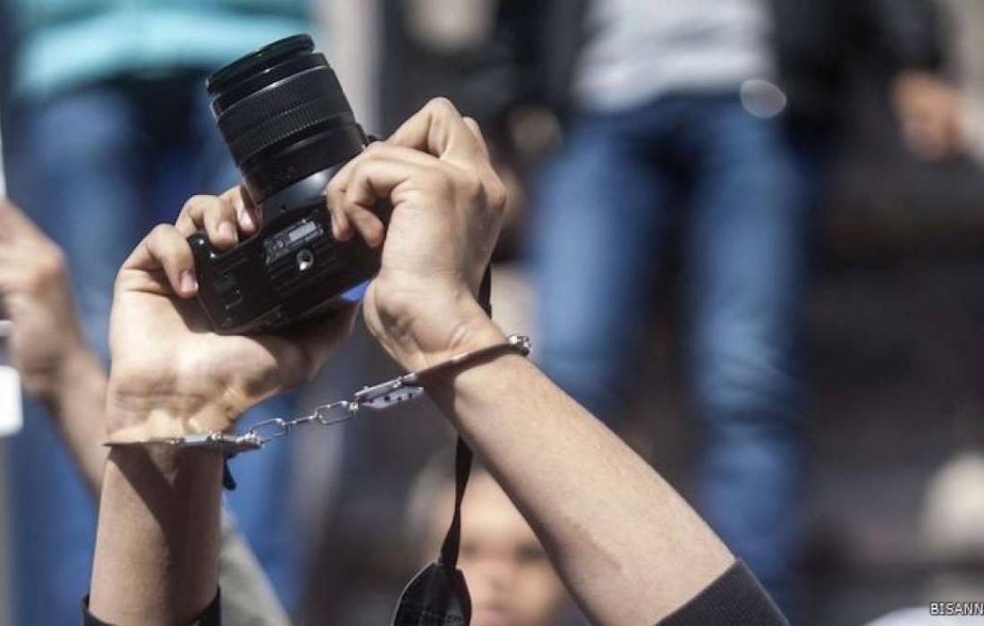 صحفيين في سجون الاحتلال.jpg