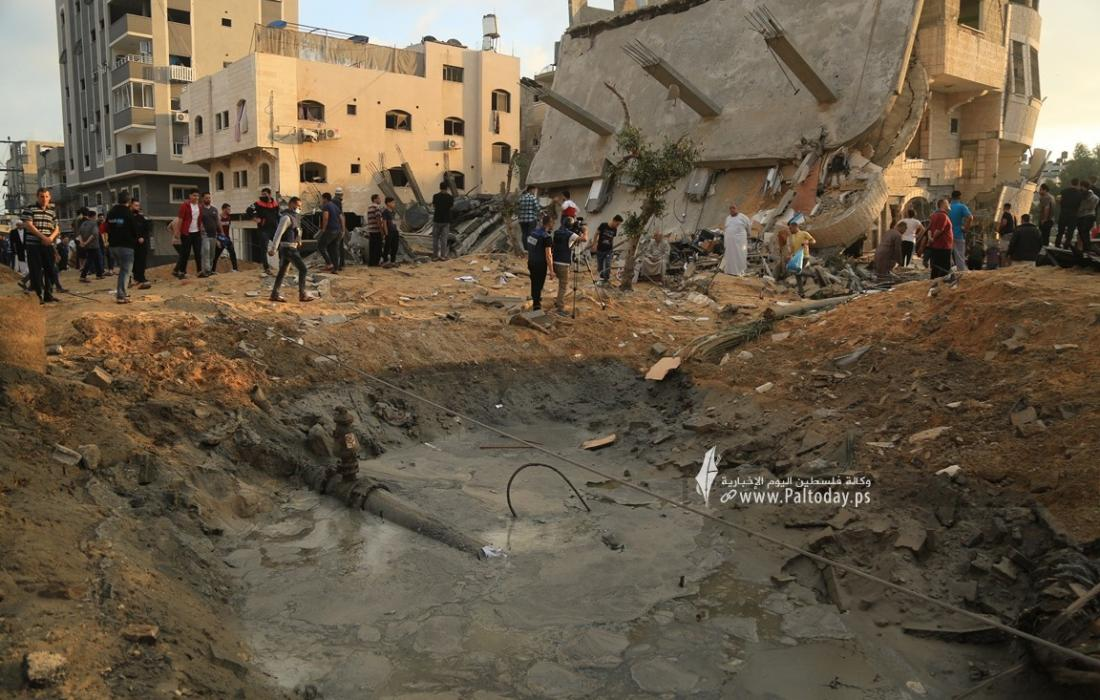 منازل المدمرة إثر القصف (28).JPG
