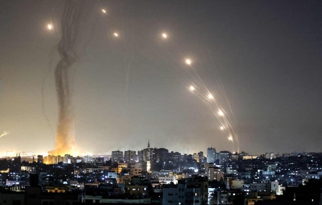 آثار قصف المقاومة على تل أبيب (6).jpg