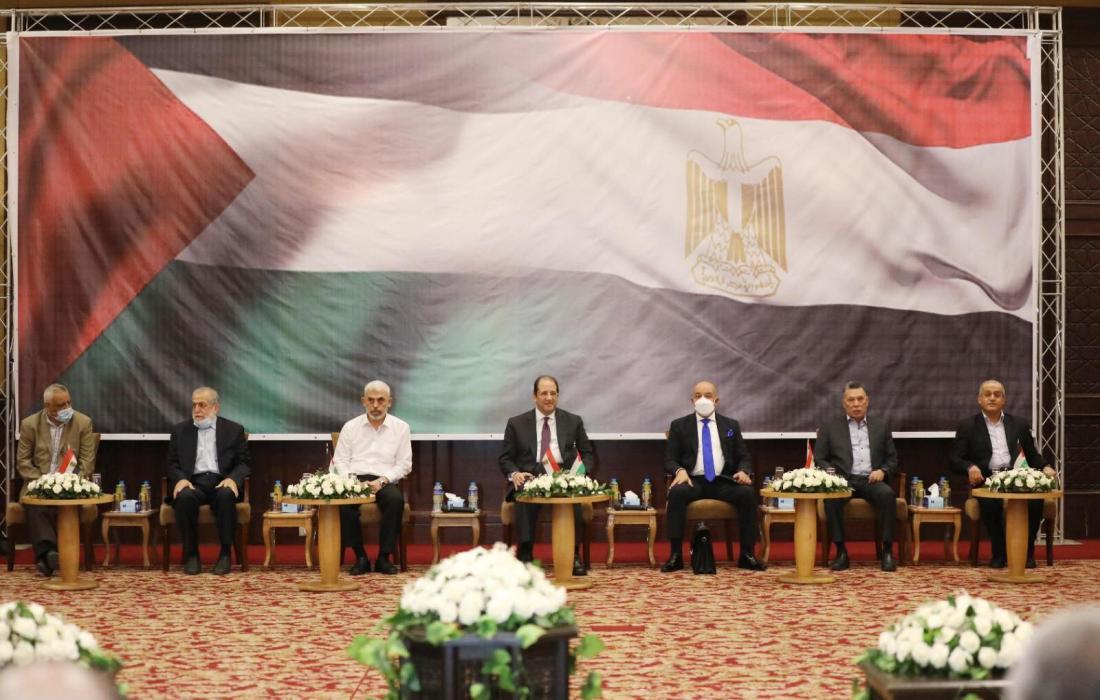 الفصائل مع الوزير عباس كامل