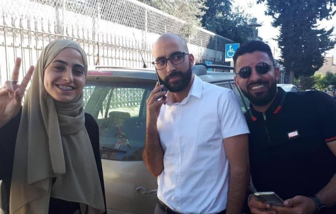 الافراج عن الناشطة منى الكرد