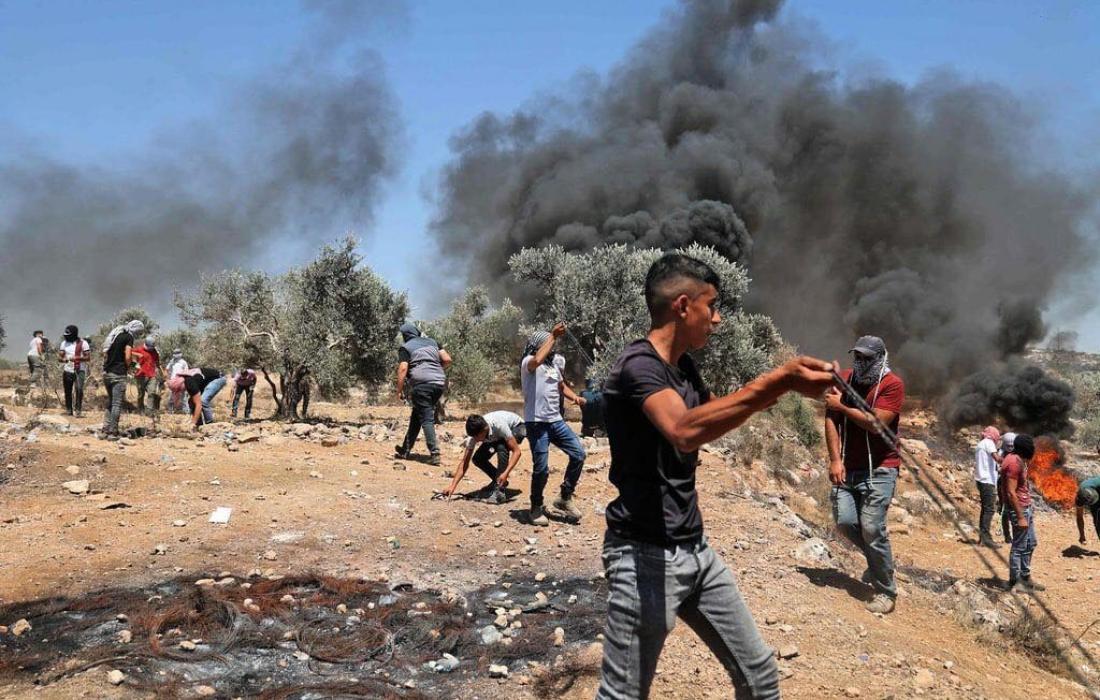 مواجهات نابلس- بيتا- قوات الاحتلال-إصابات- إصابة 5.jpg