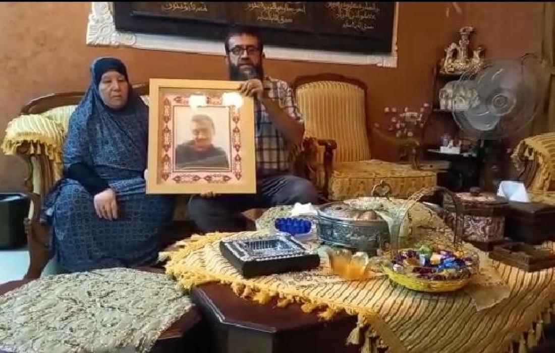 الشيخ عدنان يزور والدة القائد الشهيد وائل عساف