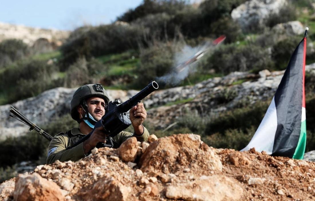 قوات الاحتلالاصابتان في مواجهات مع قوات الاحتلال في حي الشيخ جراح