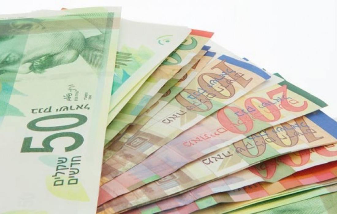 اسعار الدولار مقابل الشيكل اليوم