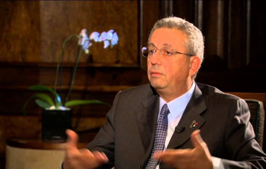 الامين العام للمبادرة الوطنية مصطفى البرغوثب