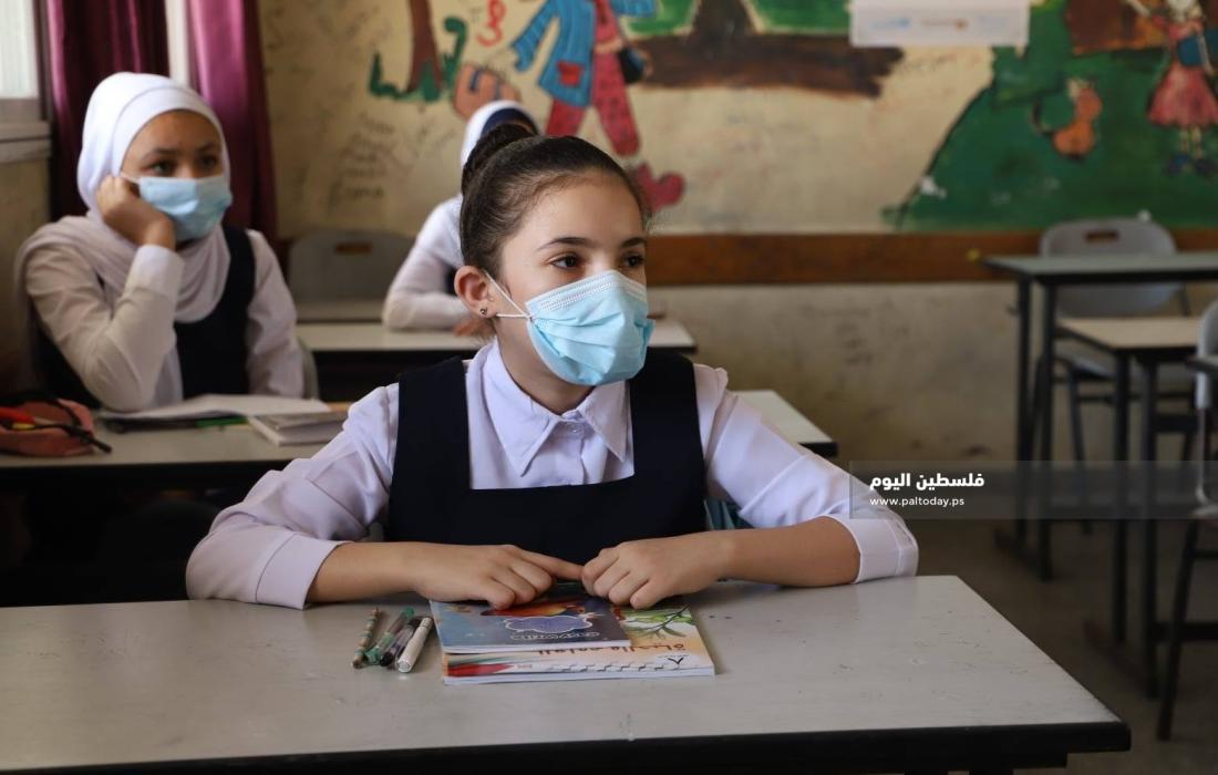 مدارس الحكومة بغزة تستأنف الدراسة لطلاب السابع حتى حادي عشر بدوام جزئي (8)