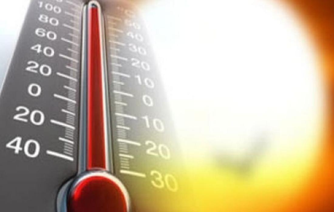 الحرارة في مصر