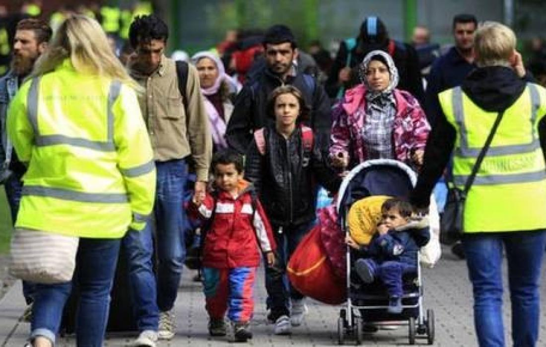 لاجئون عرب