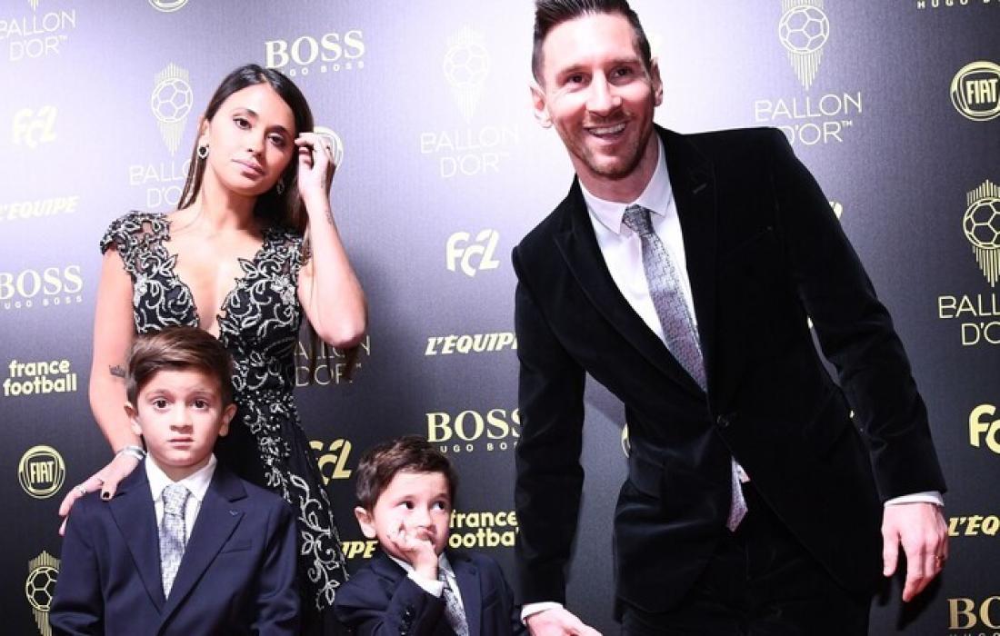 ليونيل ميسي وعائلته