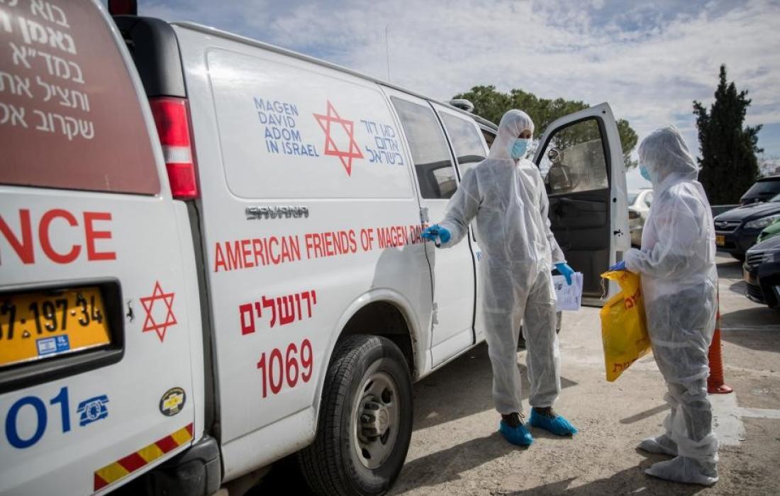 فيروس كورونا في (اسرائيل)