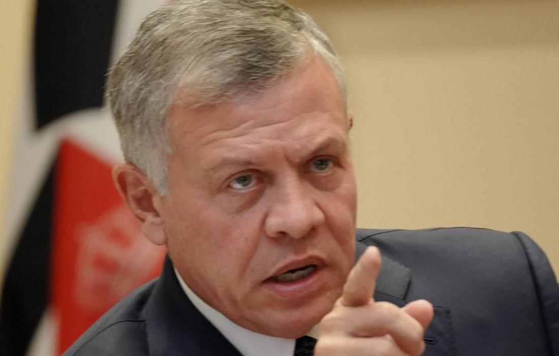 الملك الأردني عبدالله الثاني