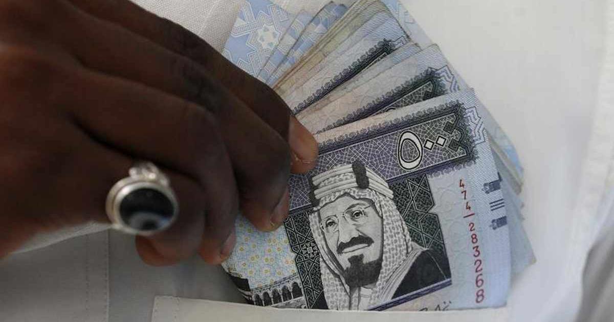 هبوط أسعار صرف الريال السعودي مقابل الدولار فى السوق السوداء اليوم فلسطين اليوم