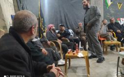 وفد من الجهاد الإسلامي في مدينة رام الله يزور الأسير المحرر ماهر الأخرس
