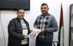 الرياضة بغزة توقع على عقد لتشطيب مبنى نادي اتحاد دير البلح