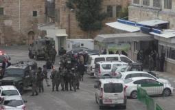 قوات الاحتلال في الخليل.jpeg