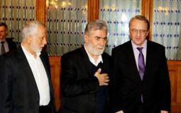 وفد من الجهاد الاسلامي في موسكو