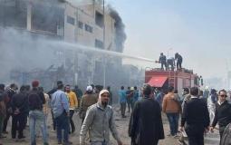 ارتفاع ضحايا حريق مصنع للملابس في القاهرة