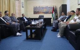 الأمين العام لحركة الجهاد الإسلامي القائد زياد النخالة يلتقي بوفد من الجبهة الشعبية في العاصمة اللبنانية بيروت