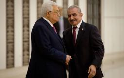 عباس و محمد اشتية
