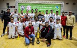 دير البلح بطلاً لكأس اليد للموسم 2019/2020 في المحافظات الجنوبية