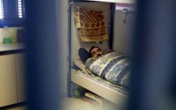 نقل الاسير قتيبة الشاويش إلى المستشفى بعد تدهور حالته الصحية