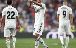 ماركو اسينسيو لاعب ريال مدريد