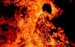 انتحر حرقا