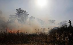 حرائق في مستوطنات غلاف غزة بفعل البالونات