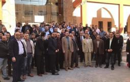 العاملون في جامعة الاقصى