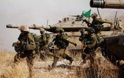 مناورة جيش الاحتلال