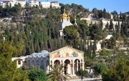 كنيسة الجثمانية في القدس المحتلة