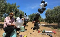 بالونات حارقة ومتفجرة تجاه المستوطنات (23)