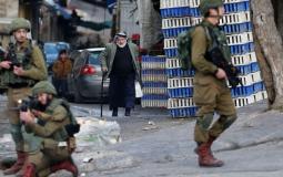قوات الاحتلال في الضفة (ارشيف)