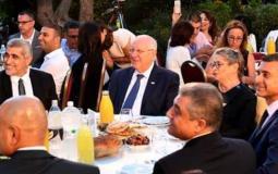 افطار في بيت رئيس الاحتلال