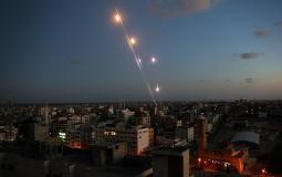 صواريخ المقاومة اتجاه البلدات المغتصبة