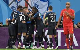 فرنسا تتغلب على الشياطين الحمر وتتأهل لنهائي كأس العالم
