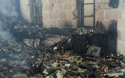 حرق كنيسة