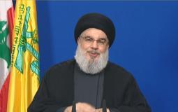 السيد حسن نصر الله الامين العام لحزب الله اللبناني
