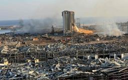 مرفأ #بيروت جراء الانفجار الضخـم (7)