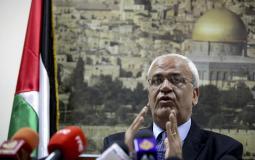 الدكتور صائب عريقات مسؤول دائرة المفاوضات في منظمة التحرير 2